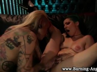 Slutload Punk Lesbian Orgy