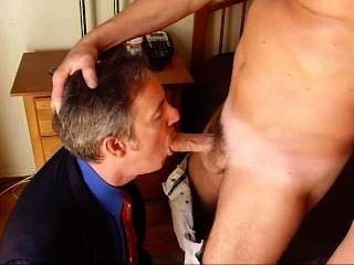 Real Amateur Guy Sucks Cock In Suit