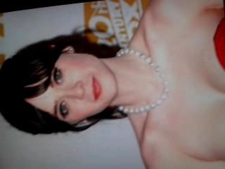 Zooey Deschanel Cum Tribute 2
