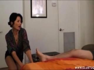 Hot Mom Handjob Young Boy