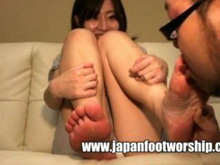Japanese Foot Worship 18