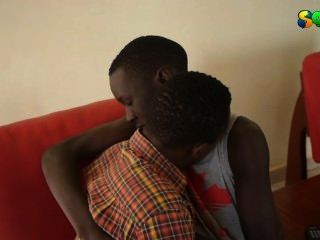 Sweet African Twinks Getting Hot