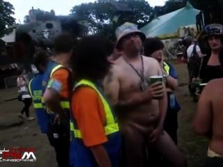 Naked In Public Music Festival Cfnm