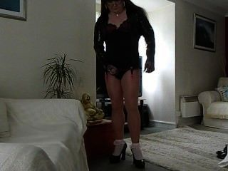Tgirl In Pantyhose