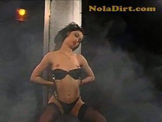 Hot Amateur Romanian Stripper Slut In Black