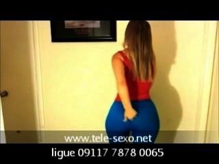 Woow Beauty Girl Video Tercer Video Blue Leggings Disk-sexo.net 09117 7878
