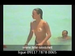 Spycam Beach Topless Girl tele-sexo.net 09117 7878 0065