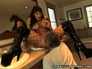 Ava Devine - Smoking Cigarette And Facesitting