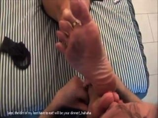 Old Man Worships Feet