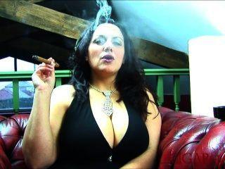 Soo big boob fetish smoking amazing