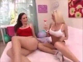 Months Lesbian Pregnant Play