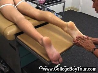 Gay Video Dr. Phingerphuck Caressed My Feet And While It Felt Different,