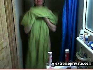 Hidden Cam My Showering Mum 44 Years