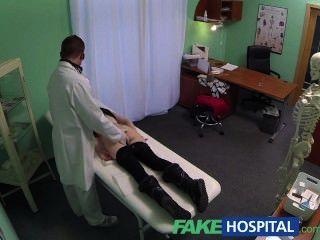 Fakehospital Spy On Pretty Teen Slowly Seduced And Takes Creampie