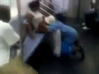 Dude Eating Pussy On Public Train