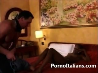 Ragazza Nera Scopata Da Italiano - Young Black Girl Fucked By Italian Hot