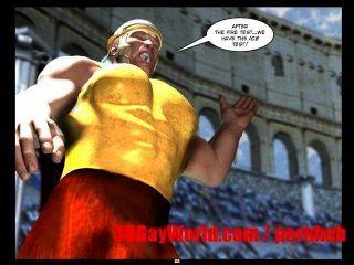 Gay Olympic Games Funny 3d Gay Cartoon Anime Comics Ancient Xxx Joke 3dgay