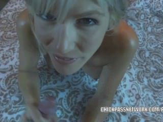 Blonde Milf Jolene Takes Some Dick And Gets A Creampie