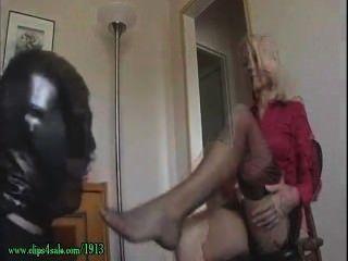 Hot Milf Mature Feet Worship 2