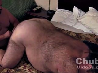 Daddies Big Round Hairy Belly