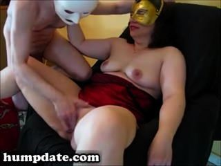 Masked Wife Gets Her Pussy And Ass Fucked
