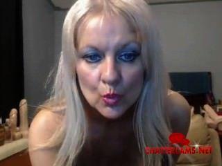 Big Tits Pierced Nipples Blonde Milf