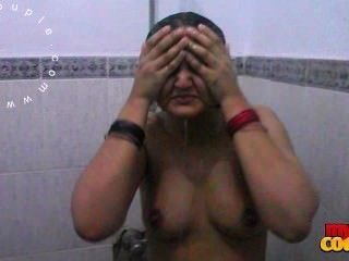 Sexy Big Tits Indian Wife Sonia Taking Shower Recorded By Husband