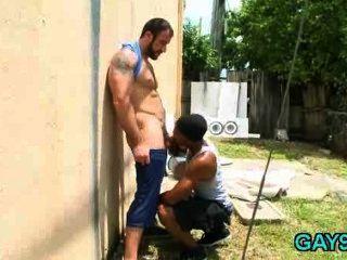 White Dude Tops Black Guy