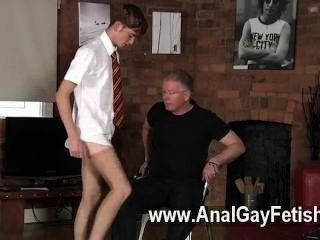 Gay Orgy Spanking The Schoolboy Jacob