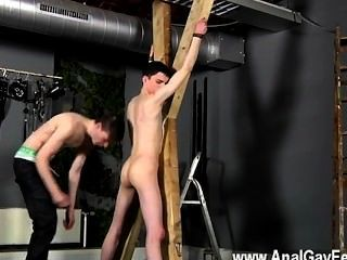 Hot Twink Scene Victim Aaron Gets A Whipping, Then Gets His Slot Properly