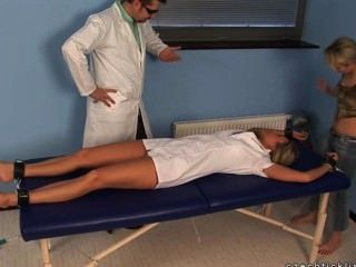 Nurse Sandra In Tickle Action