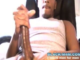 Big Dick Black Guy Cums