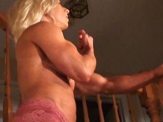 Sexy Fbb Nipple Slip Upstairs