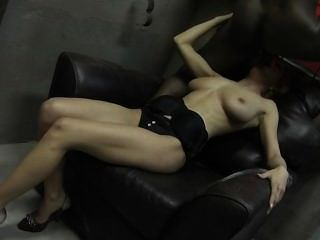 Old Black And Old White Cock For A Young Girl In Dungeon