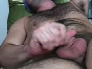 Hairy Cub Is Made To Jerk Off