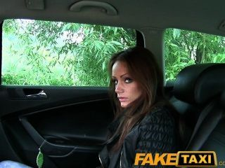 Faketaxi Unhappy Customer Sucks Cock Or A Long Walk